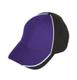 Purple Black Cap